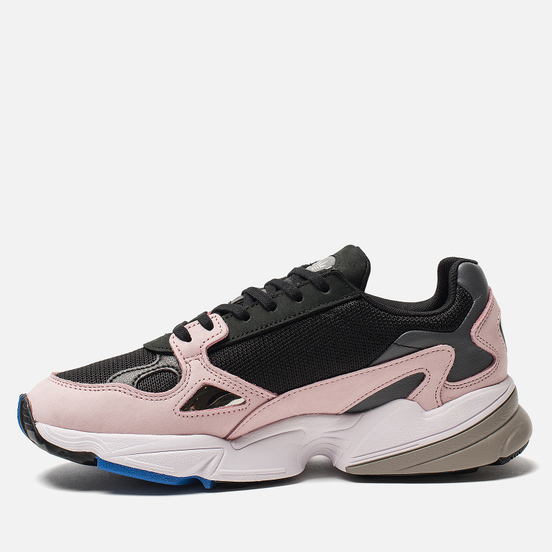 Женские кроссовки adidas Originals Falcon Core Black/Core Black/Pink