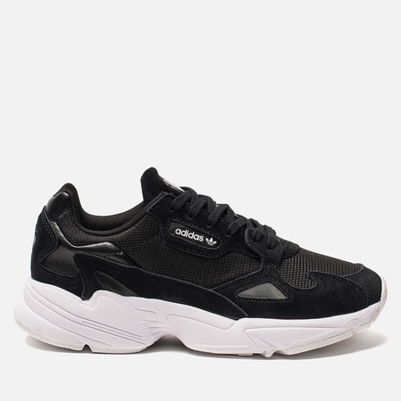 Женские кроссовки adidas Originals Falcon Core Black/Core Black/White