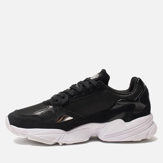 Женские кроссовки adidas Originals Falcon Core Black/Core Black/White