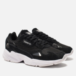 Женские кроссовки adidas Originals Falcon Core Black/Core Black/White фото- 2