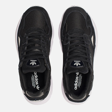 Женские кроссовки adidas Originals Falcon Core Black/Core Black/White фото- 5