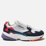 Женские кроссовки adidas Originals Falcon Crystal White/Crystal White/Collegiate Navy фото- 0
