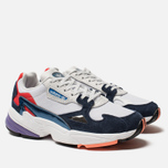 Женские кроссовки adidas Originals Falcon Crystal White/Crystal White/Collegiate Navy фото- 2