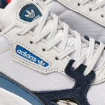 Женские кроссовки adidas Originals Falcon Crystal White/Crystal White/Collegiate Navy фото- 6