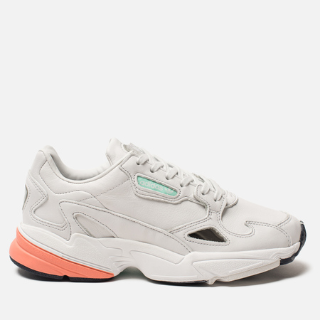Женские кроссовки adidas Originals Falcon Crystal White/Crystal White/Easy Orange