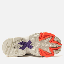 Женские кроссовки adidas Originals Falcon Off White/Raw White/Active Purple фото- 4