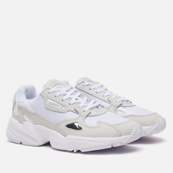 Женские кроссовки adidas Originals Falcon White/White/Crystal White