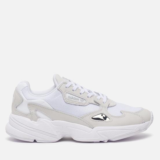 Женские кроссовки adidas Originals Falcon White/White/Crystal White