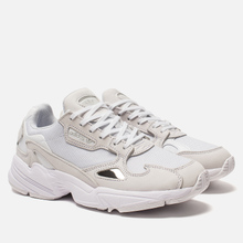 Женские кроссовки adidas Originals Falcon White/White/Crystal White фото- 0