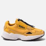 Женские кроссовки adidas Originals Falcon Zip Active Gold/Core Black/Cloud White фото- 0