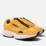 Женские кроссовки adidas Originals Falcon Zip Active Gold/Core Black/Cloud White фото- 2