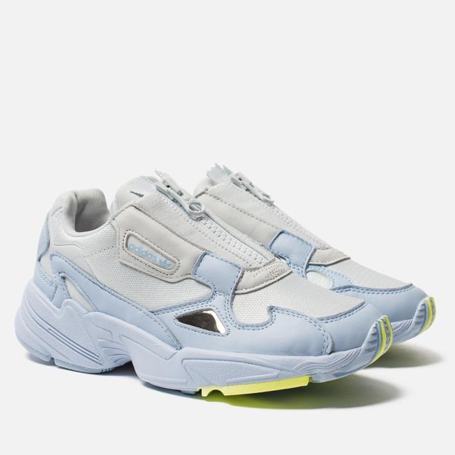 Женские кроссовки adidas Originals Falcon Zip Glow Blue/Blue Tint/Icey Pink