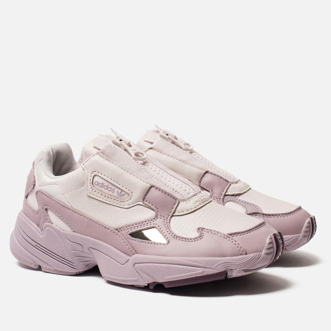 Женские кроссовки adidas Originals Falcon Zip Orchid Tint/Soft Vision/Purple Beauty