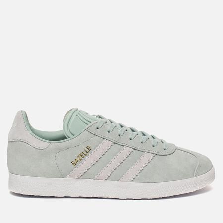 Женские кроссовки adidas Originals Gazelle Ash Green/White/Blue Tint