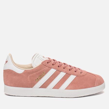 Женские кроссовки adidas Originals Gazelle Ash Pink/White/Linen