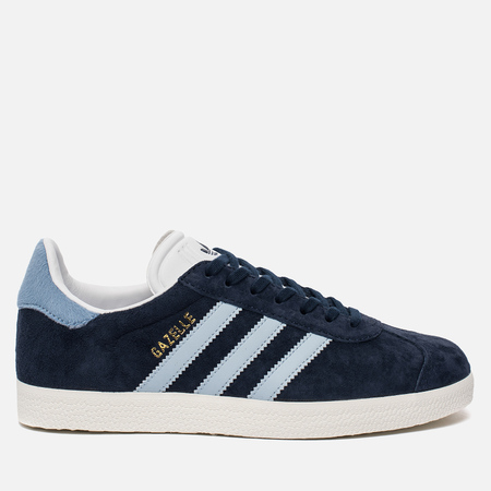 Женские кроссовки adidas Originals Gazelle Collegiate Navy/Easy Blue/White
