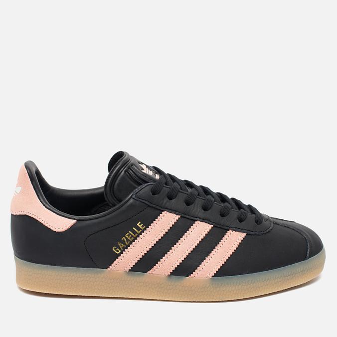 Женские кроссовки adidas Originals Gazelle Core Black/Vapour Pink/Gum