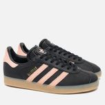 Женские кроссовки adidas Originals Gazelle Core Black/Vapour Pink/Gum фото- 2