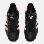 Женские кроссовки adidas Originals Gazelle Core Black/Vapour Pink/Gum фото- 4