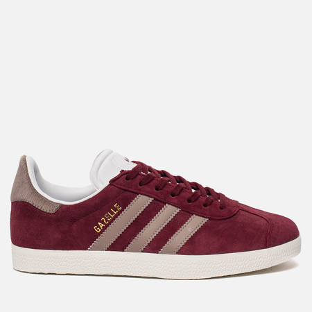 Женские кроссовки adidas Originals Gazelle Core Burgundy/Vapor Grey/White