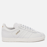 Женские кроссовки adidas Originals Gazelle Crystal White/Crystal White/Gold Metallic фото- 0