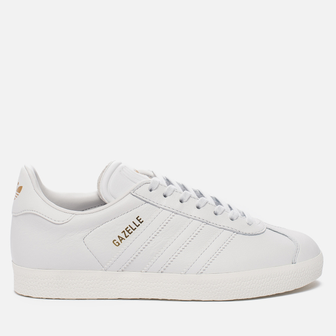 Женские кроссовки adidas Originals Gazelle Crystal White/Crystal White/Gold Metallic