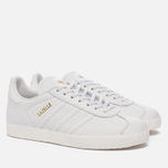 Женские кроссовки adidas Originals Gazelle Crystal White/Crystal White/Gold Metallic фото- 2