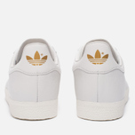 Женские кроссовки adidas Originals Gazelle Crystal White/Crystal White/Gold Metallic фото- 3
