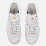 Женские кроссовки adidas Originals Gazelle Crystal White/Crystal White/Gold Metallic фото- 4
