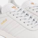 Женские кроссовки adidas Originals Gazelle Crystal White/Crystal White/Gold Metallic фото- 5