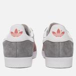 Женские кроссовки adidas Originals Gazelle Grey/Pink/White фото- 3