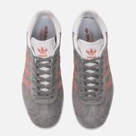 Женские кроссовки adidas Originals Gazelle Grey/Pink/White фото- 4