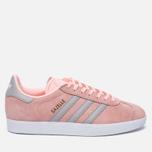 Женские кроссовки adidas Originals Gazelle Pink/Grey/White фото- 0