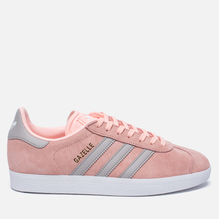Женские кроссовки adidas Originals Gazelle Pink/Grey/White