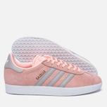 Женские кроссовки adidas Originals Gazelle Pink/Grey/White фото- 2