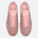 Женские кроссовки adidas Originals Gazelle Pink/Grey/White фото- 4