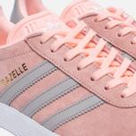 Женские кроссовки adidas Originals Gazelle Pink/Grey/White фото- 5