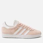 Женские кроссовки adidas Originals Gazelle Vapor Pink/White/Gold Metallic фото- 0