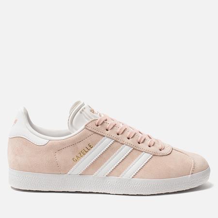 Женские кроссовки adidas Originals Gazelle Vapor Pink/White/Gold Metallic