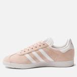 Женские кроссовки adidas Originals Gazelle Vapor Pink/White/Gold Metallic фото- 2