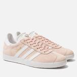 Женские кроссовки adidas Originals Gazelle Vapor Pink/White/Gold Metallic фото- 1