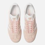 Женские кроссовки adidas Originals Gazelle Vapor Pink/White/Gold Metallic фото- 3