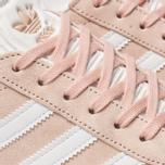 Женские кроссовки adidas Originals Gazelle Vapor Pink/White/Gold Metallic фото- 6