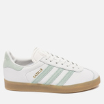 Женские кроссовки adidas Originals Gazelle Vintage White/Vapour Green/Gum фото- 0