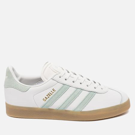 adidas Originals Gazelle Women's Sneakers Vintage White/Vapour Green/Gum