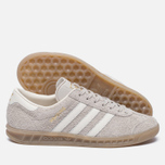 Женские кроссовки adidas Originals Hamburg Clear Brown/Off White/Gum фото- 2