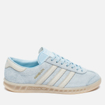 Женские кроссовки adidas Originals Hamburg Ice Blue/Off White фото- 0