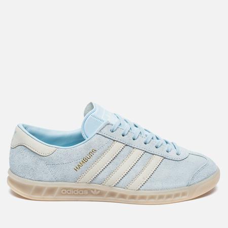 Женские кроссовки adidas Originals Hamburg Ice Blue/Off White