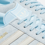 Женские кроссовки adidas Originals Hamburg Ice Blue/Off White фото- 3