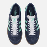 Женские кроссовки adidas Originals Hamburg Midnight Grey/Easy Green/Gum фото- 4